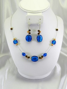 Cerulean and Wood Set